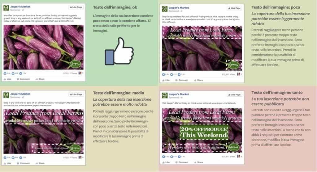 Linee guida per le foto in evidenza di Facebook