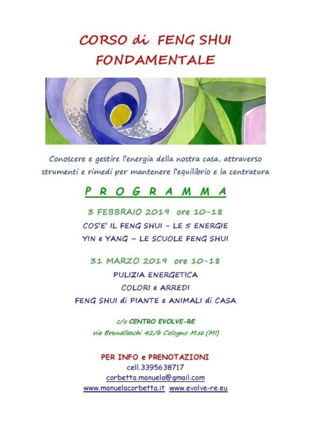 3 Febbraio 2019 Corso Di Feng Shui Fondamentale Cologno Monzese Mi