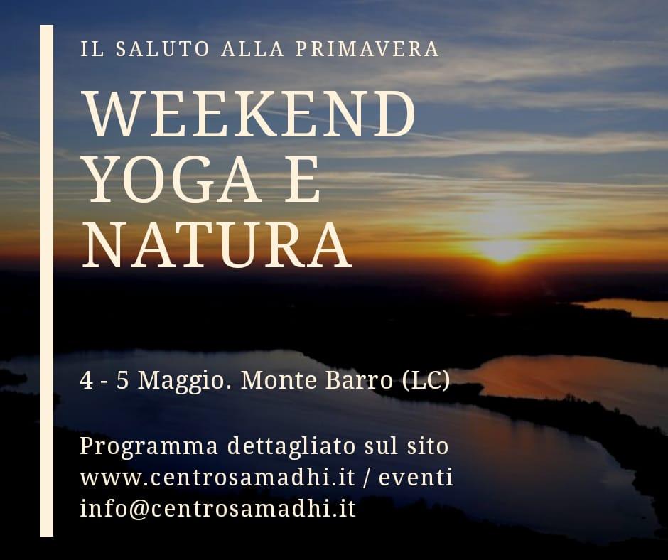 Weekend yoga e natura - Galbiate