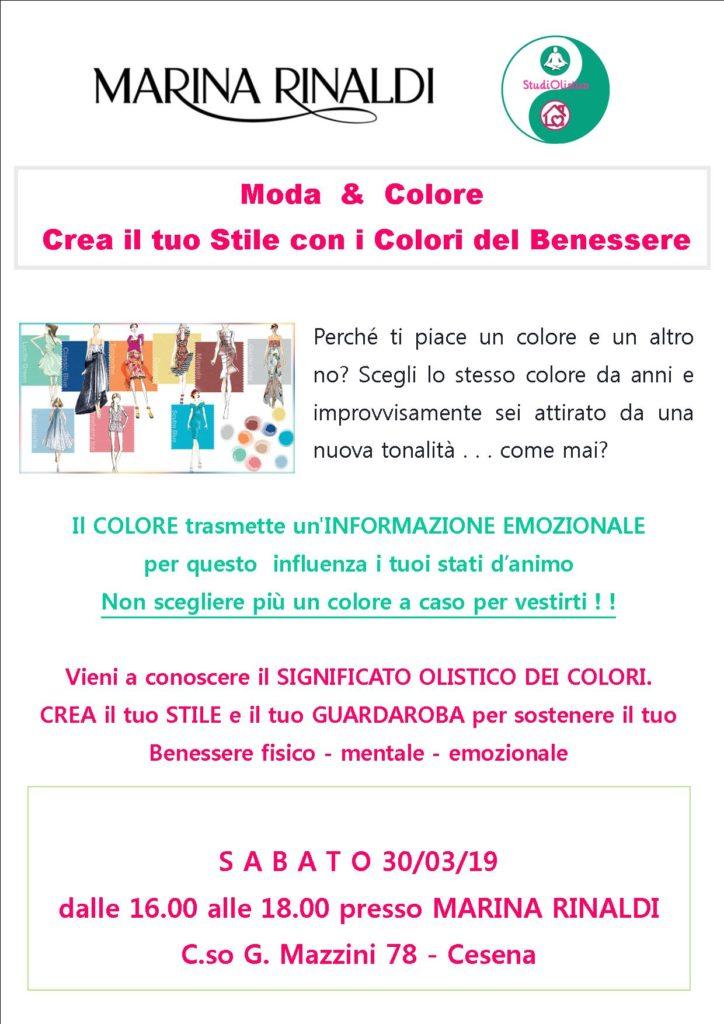 30 Marzo 2019 Moda E Colore Crea Il Tuo Stile Con I Colori Del