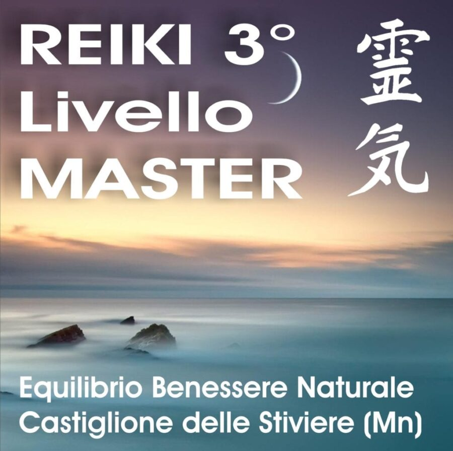 Corso 3°livello/Master Reiki