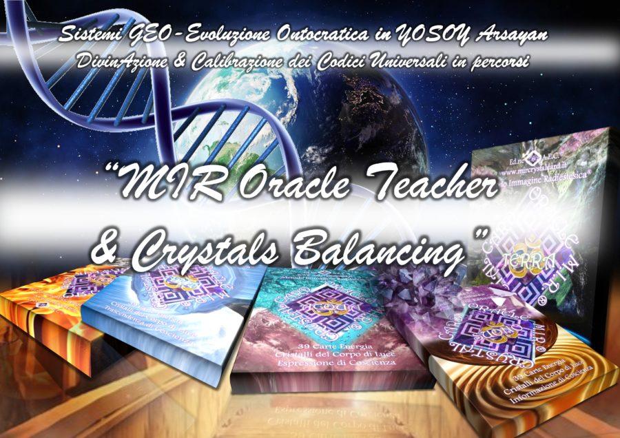 """Conferenza """"Mir Oracle Crystals Cards Encoder"""""""