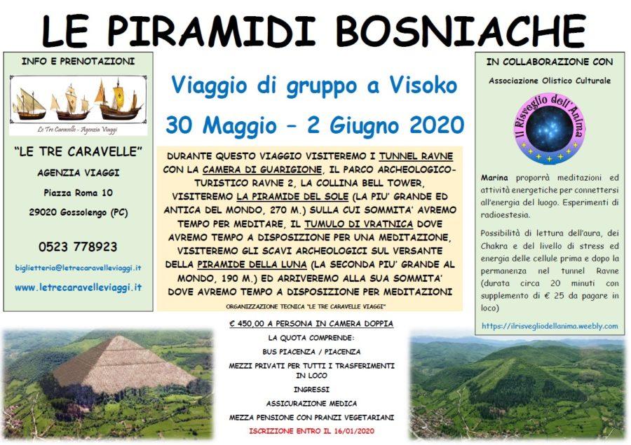 Viaggio alle piramidi bosniache