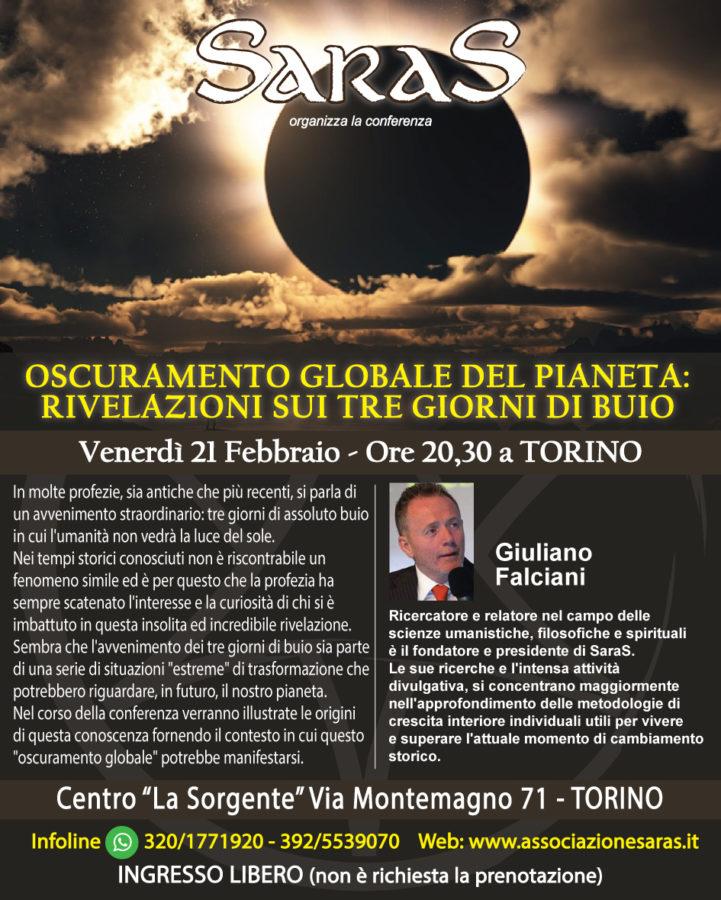 Oscuramento globale del pianeta: