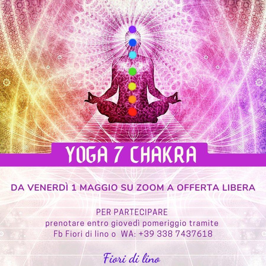 Yoga 7 chakra corso online
