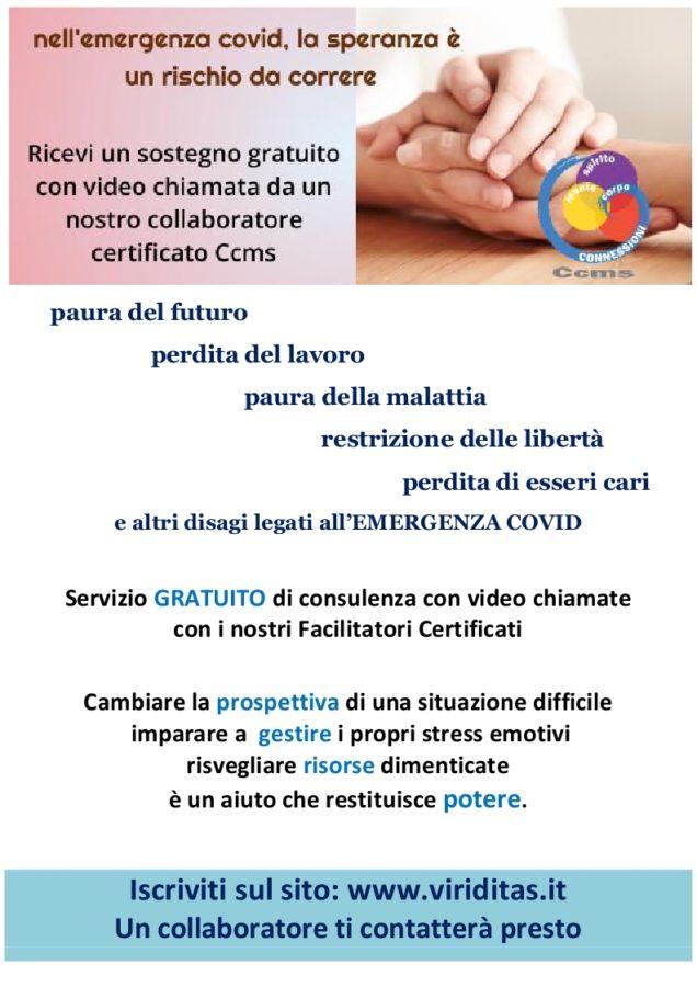 Supporto gratuito online emergenza Covid