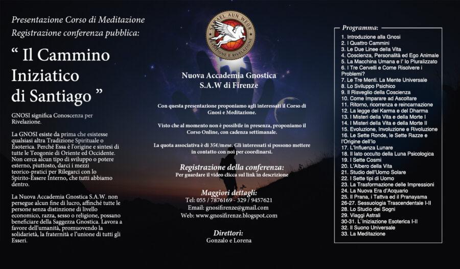 Cammino Santiago-Corso online Meditazione