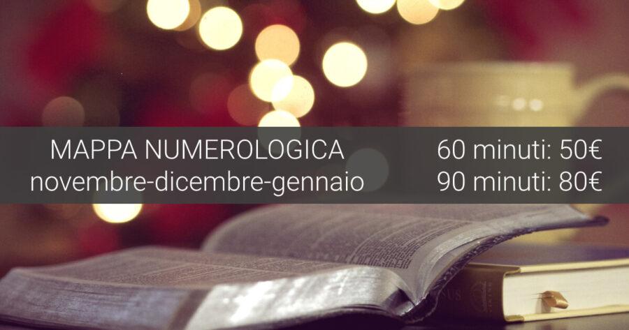 Mappa numerologica - Promozione natalizia